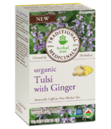 Traditional Medicinals Organic Tulsi with Ginger Tea
