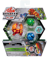Bakugan Starter Pack 3-Pack Hydorous Ultra Armored Alliance Collectible Action Figures