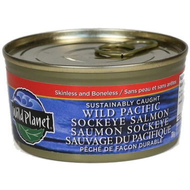 Wild Planet Wild Pacific Sockeye Salmon