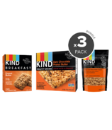 KIND Morning Ready Peanut Butter & Chocolate Breakfast Bundle