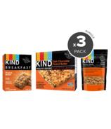 KIND Morning Ready Peanut Butter & Chocolate Breakfast Bundle