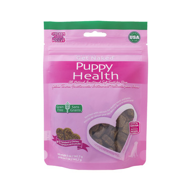 Natural Polymer Int. Get Naked Puppy Health Soft Treats Bag