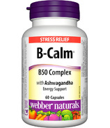 Webber Naturals B-Calm Stress Relief Tablets
