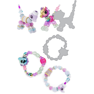 Twisty Petz Sunshiny Pony, Posie Poodle and Hidden Surprise