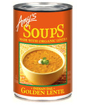 Amy's Organic Indian Golden Lentil Soup