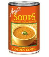 Amy's Organic Indian Golden Lentil Soup