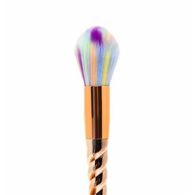 Zoe Ayla 5 Piece Makeup Brush Set Holographic Unicorn