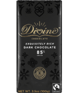 Divine Chocolate Dark Chocolate 85% Cocoa