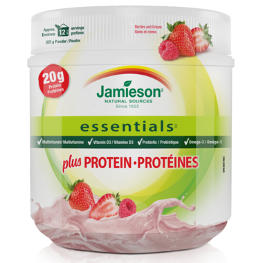 Jamieson Essentials Protein Powder Berry
