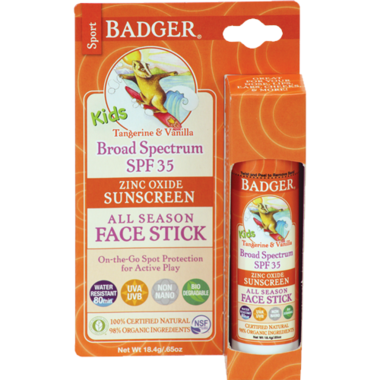 Badger Kid\'s Sport Sunscreen Stick SPF 35