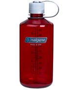 Nalgene Tritan 32 Ounce Narrow Mouth Loop Top Outdoor Red