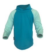 Bummis Long Sleeve UV Shirt Aqua & Seaspray