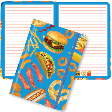 Iscream Junk Food Hardcover Journal