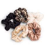 Zoe Ayla 5-pack Silky Scrunchies