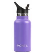Montii Co Mini Drink Insulated Bottle Purple