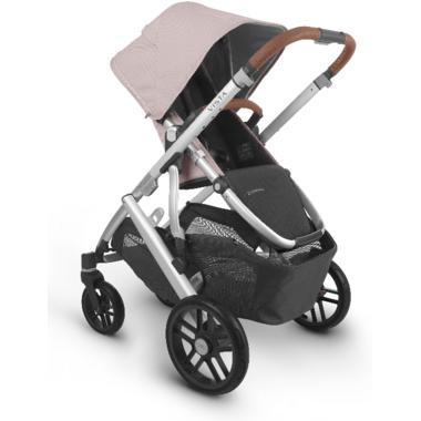 UPPAbaby VISTA V2 Stroller Alice Dusty Pink Silver Saddle Leather