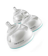 Nanobebe Breastmilk Bottle 3 Pack Teal