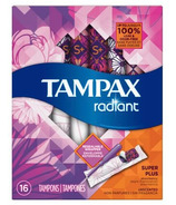 Tampax Radiant Tampons Super Plus