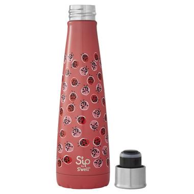 S\'ip x S\'well Water Bottle Lucky Ladybug