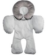 JJ Cole Reversible Grey Herringbone Body Support