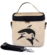 SoYoung Raw Linen Black Shark Large Cooler Bag