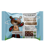 Herbaland Vegan Protein Gummies For Kids Chocolate Brownie