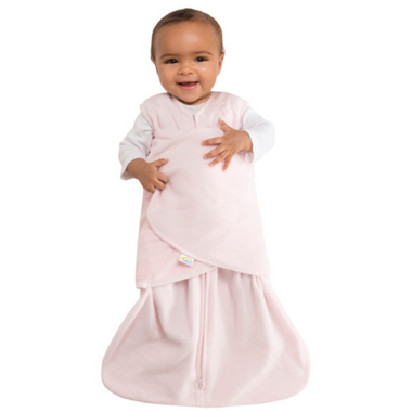 Halo Micro Fleece SleepSack Swaddle Pink