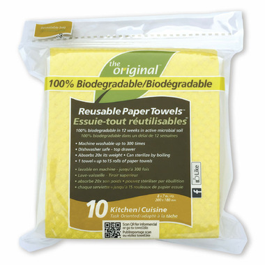 The Original Kitchen Biodegradable Reusable Paper Towels