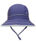 Calikids Quick-Dry Bucket Hat Extra Wide Brim Purple Jewel