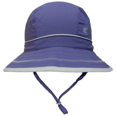 Calikids Quick-Dry Bucket Hat Extra Wide Brim Purple Jewel