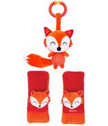 Diono Harness Soft Wraps & Linkie Toy Fox Personnage