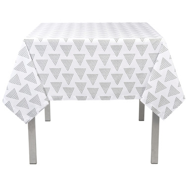 Stitch & Shuttle Table Cloth Pyramid Gray