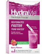 Hydralyte Effervescent Granule Sticks Berry