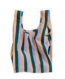 Baggu Baby Baggu Reusable Bag in Peach Nineties Stripe