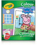 Crayola Colour & Sticker Book Peppa Pig