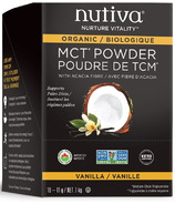 Nutiva MCT Powder Single Packets Vanilla