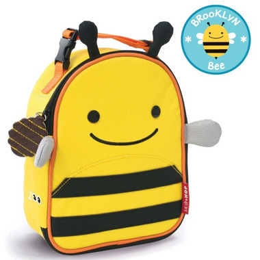 Skip Hop Zoo Lunchies Insulated Lunch Bag Bee Design