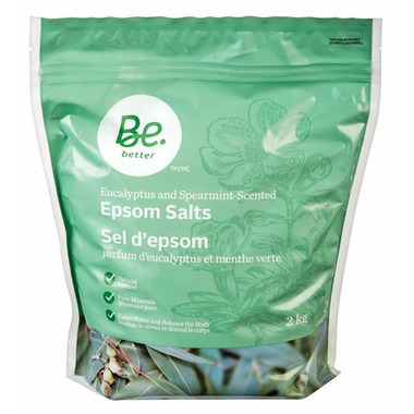 Be Better Epsom Salts Eucalyptus & Spearmint