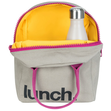 Fluf Zippered Lunch Purple