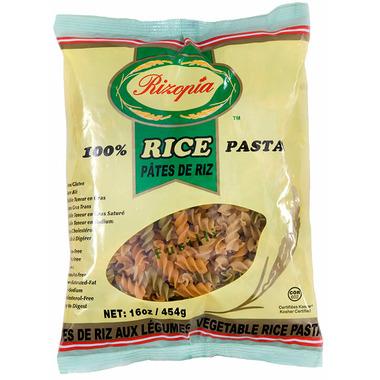 Rizopia 100% Rice Pasta Vegetable Fusilli