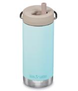 Klean Kanteen TKWide Bottle with Twist Cap Blue Tint