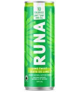 Runa Clean Energy Drink Lime Twist