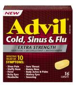 Advil Extra Strength Cold, Sinus & Flu Caplets