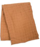 Lulujo Couverture d'emmaillotage Bambou Coton Tan