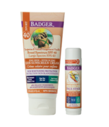 Badger SPF 35+ Kids Clear Zinc Sunscreen Bundle