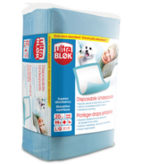 AMG UltraBlok Disposable Underpads with Thick Absorbent Fluff Core