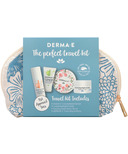 Derma E The Perfect Travel Kit With Bag