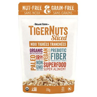 Organic Gemini Sliced Raw TigerNuts