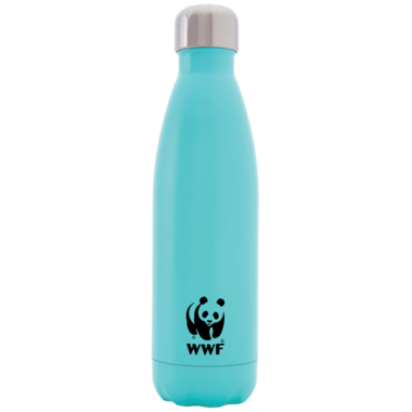 S\'well World Wildlife Fund Stainless Steel Water Bottle Turquoise