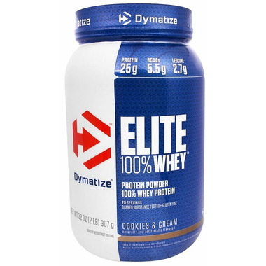 Dymatize Nutrition Elite Whey Protein Cookies & Cream